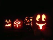 halloween pumpor Arkivfoton