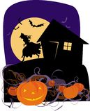 halloween pumpor vektor illustrationer