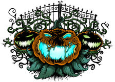 Halloween pumpor Royaltyfria Bilder