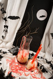 Halloween punch Stock Images