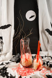 Halloween punch Royalty Free Stock Images
