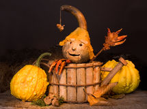 Halloween puppet Royalty Free Stock Photography