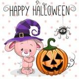Halloween Rabbit Stock Photo