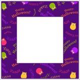 Halloween-Rahmen Lizenzfreies Stockfoto