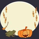 Halloween rama Obraz Royalty Free