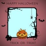 Halloween rama Zdjęcia Royalty Free