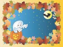 Halloween ramowy royalty ilustracja
