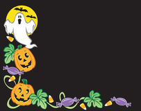 Halloween-Rand Lizenzfreie Stockfotos