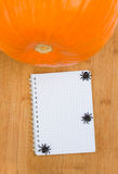 Halloween recipes Royalty Free Stock Photos