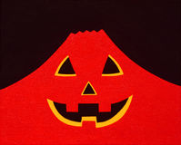Halloween Red Mountain Royalty Free Stock Photography