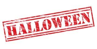 Halloween red stamp Stock Photo