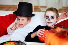 Halloween relax Royalty Free Stock Photography