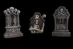 Halloween RIP  Graves Stock Photo