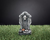 Halloween RIP tombstone Stock Photography