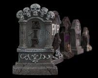 Halloween RIP  Tombstones Stock Image