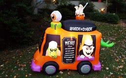 Halloween Roach Coach Royalty Free Stock Photos