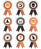Halloween rosettes Royalty Free Stock Image