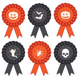 Halloween rosettes Stock Image