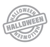 Halloween rubber stamp Stock Images