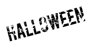 Halloween rubber stamp Royalty Free Stock Image