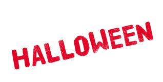 Halloween rubber stamp Royalty Free Stock Photography