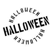 Halloween rubber stamp Royalty Free Stock Photo