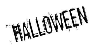 Halloween rubber stamp Stock Image