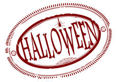 Halloween rubber stamp Stock Photos