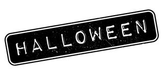 Halloween rubber stamp Stock Photography