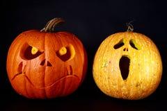 Halloween rzeźbiąca pączuszku Fotografia Royalty Free