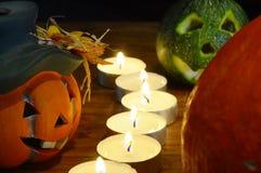 Halloween rzeźbiąca pączuszku Zdjęcia Stock