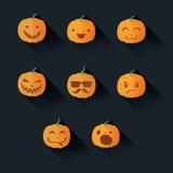 Halloween rzeźbiąca pączuszku ilustracji