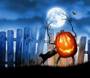 Halloween rzeźbiąca pączuszku ilustracja wektor