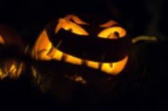 Halloween rzeźbiąca pączuszku Obrazy Stock