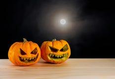 Halloween rzeźbiąca pączuszku Zdjęcia Royalty Free