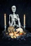 halloween sötsaker Royaltyfri Fotografi