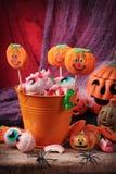 Halloween sötsaker Arkivbild