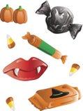 Halloween-Süßigkeit Stockfotos
