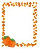 Halloween-Süßigkeit-Mais-Feld Lizenzfreie Stockfotografie