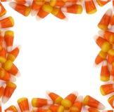 Halloween - Süßigkeit-Mais-Rand Stockfotografie