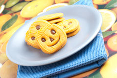 Halloween's biscuits Stock Image