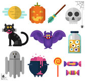 Halloween's icons Royalty Free Stock Photography