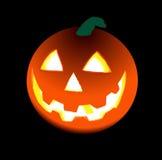 Halloween's orange pumpkin Stock Photography