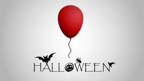 Halloween-` s Postkarte oder Tapete mit speziellen Gegenständen Lizenzfreie Stockfotografie