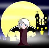Halloween's Vampire Royalty Free Stock Photo