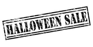 Halloween sale black stamp Stock Image