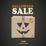 Halloween Sale. Concept Abstract Background Stock Photos