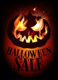 Halloween sale design. Royalty Free Stock Photos