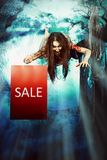 Halloween sale Royalty Free Stock Images
