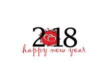 New year logo. Happy new year logo on white Background vector illustration